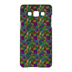 Pattern Abstract Paisley Swirls Samsung Galaxy A5 Hardshell Case