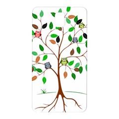 Tree Root Leaves Owls Green Brown Samsung Galaxy Note 3 N9005 Hardshell Back Case