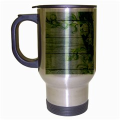 On Wood May Lily Of The Valley Travel Mug (silver Gray)