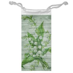 On Wood May Lily Of The Valley Jewelry Bag