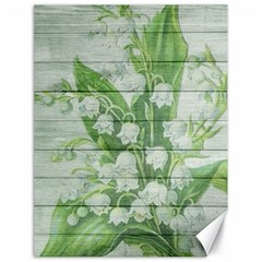 On Wood May Lily Of The Valley Canvas 18  x 24