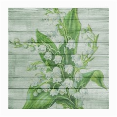 On Wood May Lily Of The Valley Medium Glasses Cloth