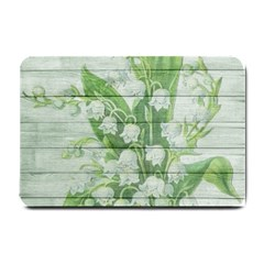 On Wood May Lily Of The Valley Small Doormat