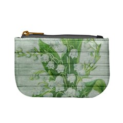 On Wood May Lily Of The Valley Mini Coin Purses