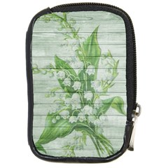 On Wood May Lily Of The Valley Compact Camera Cases