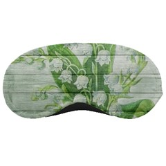 On Wood May Lily Of The Valley Sleeping Masks