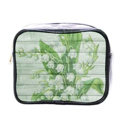 On Wood May Lily Of The Valley Mini Toiletries Bags
