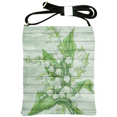 On Wood May Lily Of The Valley Shoulder Sling Bags