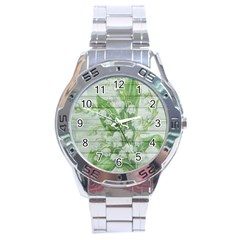 On Wood May Lily Of The Valley Stainless Steel Analogue Watch