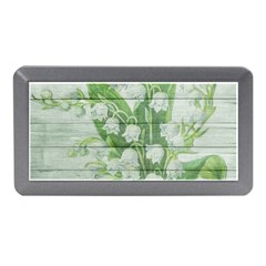 On Wood May Lily Of The Valley Memory Card Reader (mini)