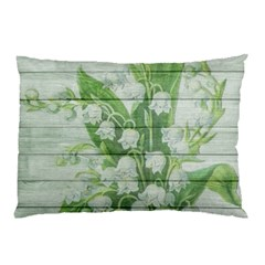 On Wood May Lily Of The Valley Pillow Case (Two Sides)