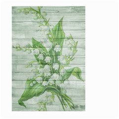On Wood May Lily Of The Valley Large Garden Flag (two Sides)