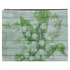 On Wood May Lily Of The Valley Cosmetic Bag (XXXL)