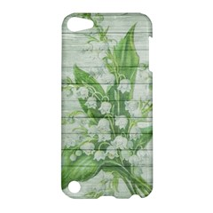 On Wood May Lily Of The Valley Apple iPod Touch 5 Hardshell Case