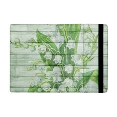 On Wood May Lily Of The Valley Apple iPad Mini Flip Case