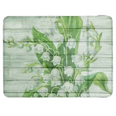 On Wood May Lily Of The Valley Samsung Galaxy Tab 7  P1000 Flip Case