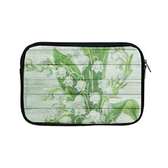 On Wood May Lily Of The Valley Apple Ipad Mini Zipper Cases