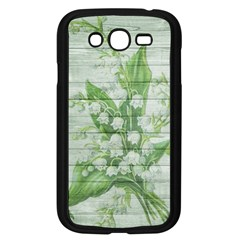 On Wood May Lily Of The Valley Samsung Galaxy Grand DUOS I9082 Case (Black)