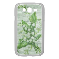 On Wood May Lily Of The Valley Samsung Galaxy Grand DUOS I9082 Case (White)