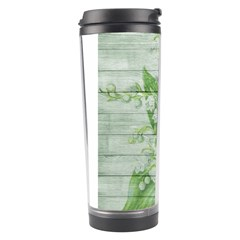 On Wood May Lily Of The Valley Travel Tumbler
