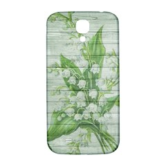 On Wood May Lily Of The Valley Samsung Galaxy S4 I9500/I9505  Hardshell Back Case