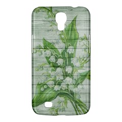 On Wood May Lily Of The Valley Samsung Galaxy Mega 6.3  I9200 Hardshell Case