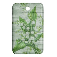 On Wood May Lily Of The Valley Samsung Galaxy Tab 3 (7 ) P3200 Hardshell Case