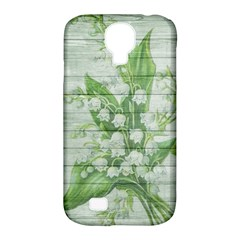 On Wood May Lily Of The Valley Samsung Galaxy S4 Classic Hardshell Case (PC+Silicone)