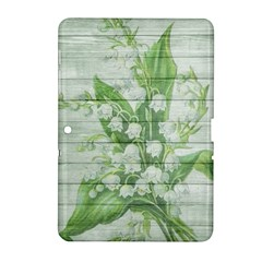 On Wood May Lily Of The Valley Samsung Galaxy Tab 2 (10.1 ) P5100 Hardshell Case