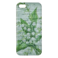 On Wood May Lily Of The Valley Iphone 5s/ Se Premium Hardshell Case