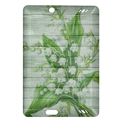 On Wood May Lily Of The Valley Amazon Kindle Fire HD (2013) Hardshell Case