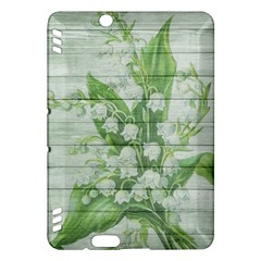 On Wood May Lily Of The Valley Kindle Fire HDX Hardshell Case