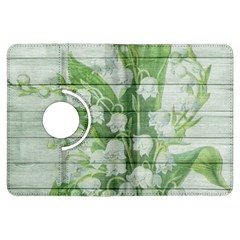 On Wood May Lily Of The Valley Kindle Fire HDX Flip 360 Case