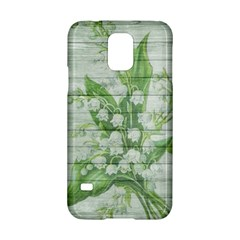 On Wood May Lily Of The Valley Samsung Galaxy S5 Hardshell Case