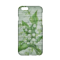On Wood May Lily Of The Valley Apple iPhone 6/6S Hardshell Case