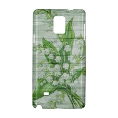 On Wood May Lily Of The Valley Samsung Galaxy Note 4 Hardshell Case
