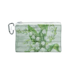 On Wood May Lily Of The Valley Canvas Cosmetic Bag (S)