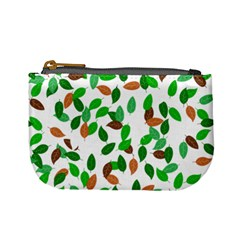 Leaves True Leaves Autumn Green Mini Coin Purses