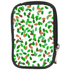 Leaves True Leaves Autumn Green Compact Camera Cases