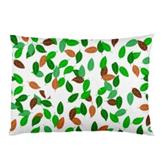 Leaves True Leaves Autumn Green Pillow Case (Two Sides)