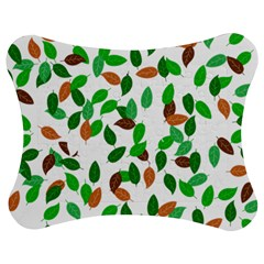 Leaves True Leaves Autumn Green Jigsaw Puzzle Photo Stand (bow)