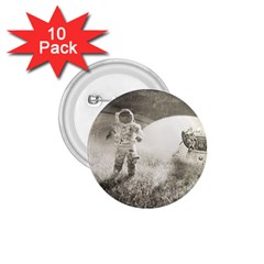 Astronaut Space Travel Space 1 75  Buttons (10 Pack)