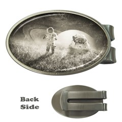 Astronaut Space Travel Space Money Clips (oval)
