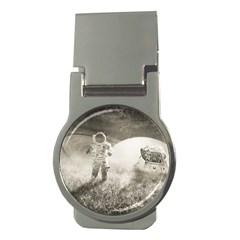 Astronaut Space Travel Space Money Clips (Round)
