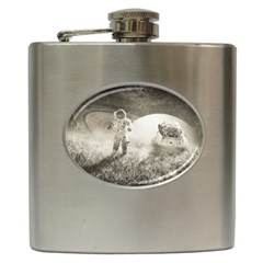 Astronaut Space Travel Space Hip Flask (6 Oz)