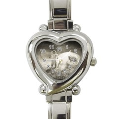 Astronaut Space Travel Space Heart Italian Charm Watch
