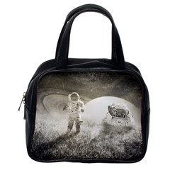 Astronaut Space Travel Space Classic Handbags (One Side)