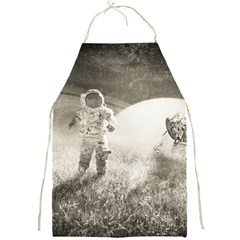 Astronaut Space Travel Space Full Print Aprons