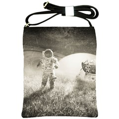 Astronaut Space Travel Space Shoulder Sling Bags