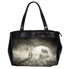 Astronaut Space Travel Space Office Handbags (2 Sides)